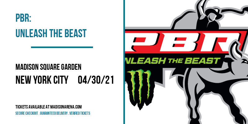 PBR: Unleash The Beast [CANCELLED] at Madison Square Garden