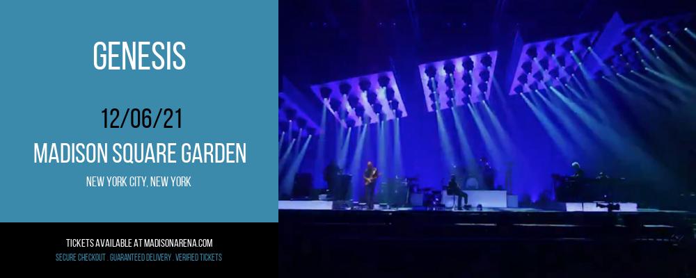 Genesis at Madison Square Garden