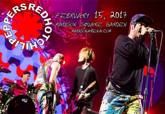 Red Hot Chili Peppers at Madison Square Garden