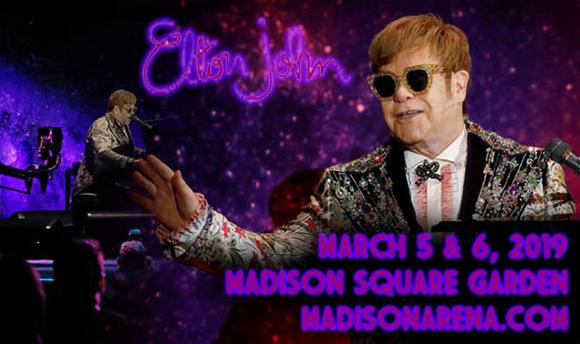 Elton John at Madison Square Garden