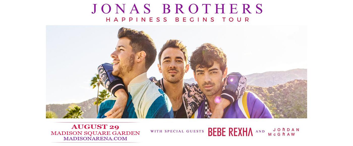 Jonas Brothers at Madison Square Garden