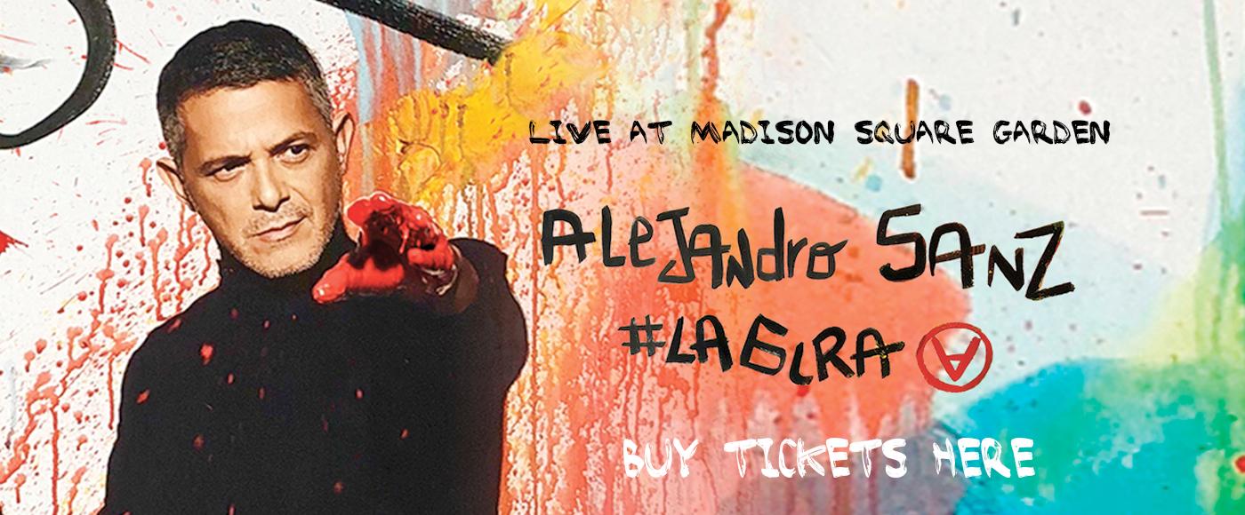 Alejandro Sanz at Madison Square Garden
