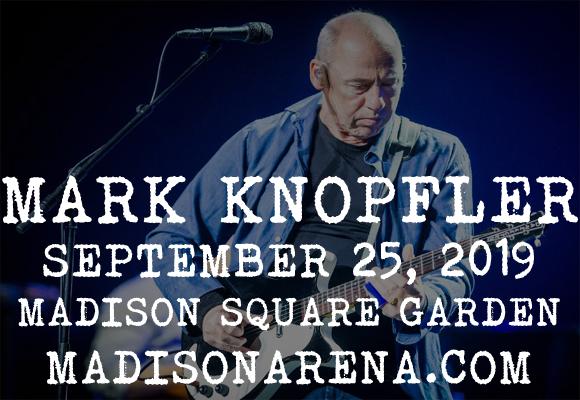 Mark Knopfler at Madison Square Garden