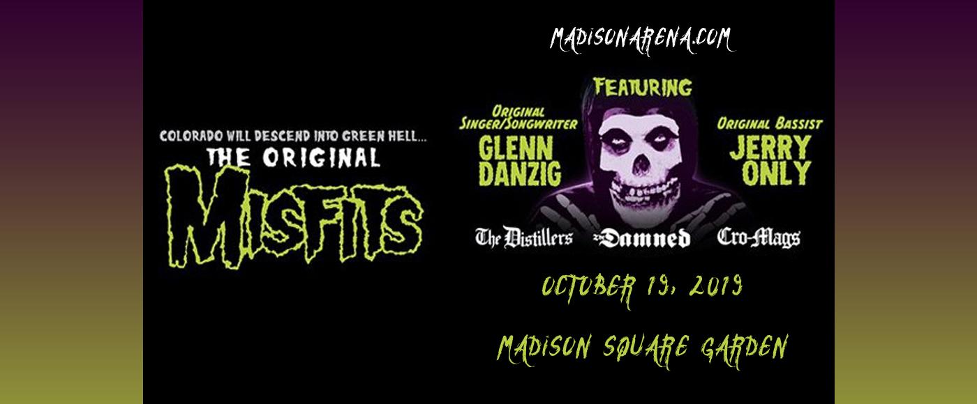The Original Misfits at Madison Square Garden