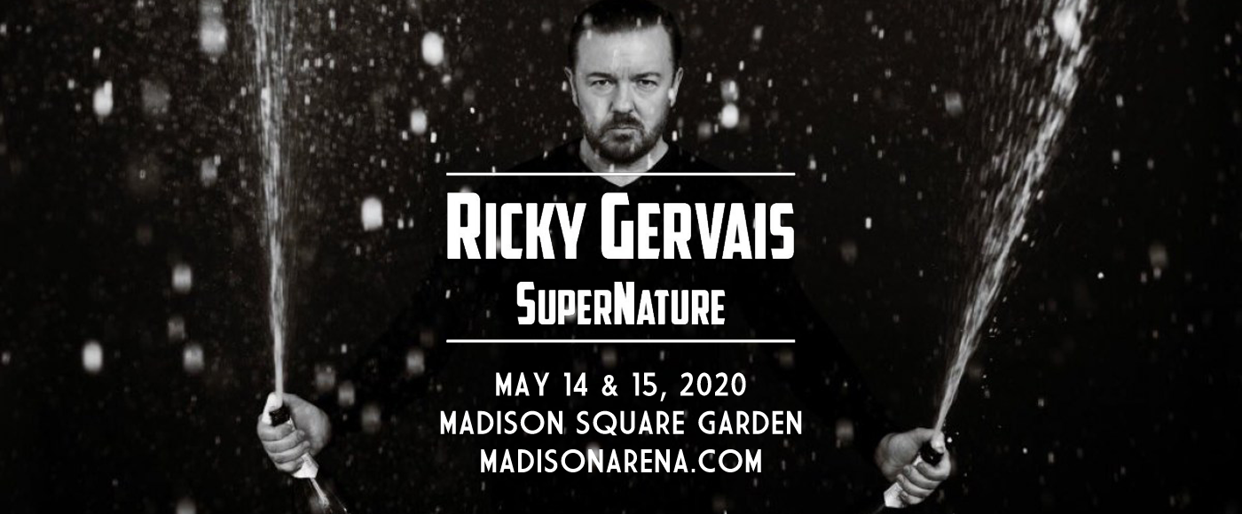 Ricky Gervais at Madison Square Garden