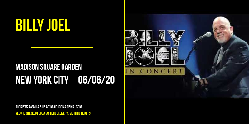Billy Joel at Madison Square Garden