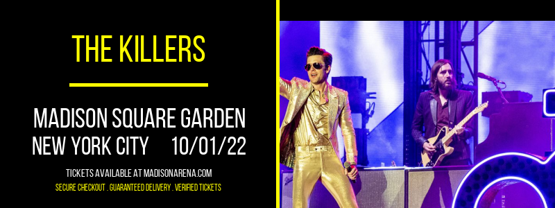 The Killers at Madison Square Garden